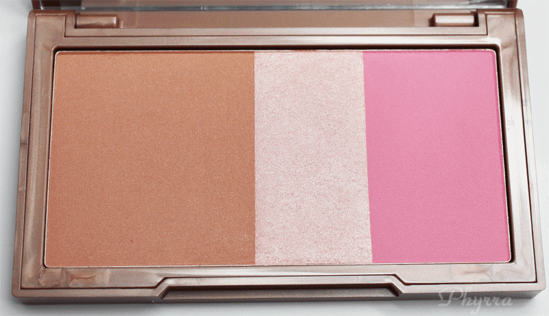 Urban Decay Naked Flushed Native Palette Swatches