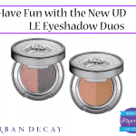 Urban Decay Limited Edition Eyeshadow Duos Review