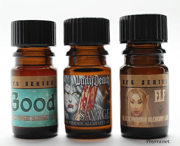 Black Phoenix Alchemy Lab Lady Death, Good, Elf perfume Review