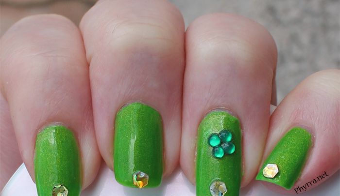 St. Patrick's Day Mani