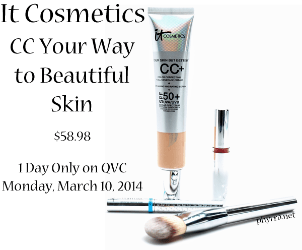 It Cosmetics CC Your Way to Beautiful Skin!