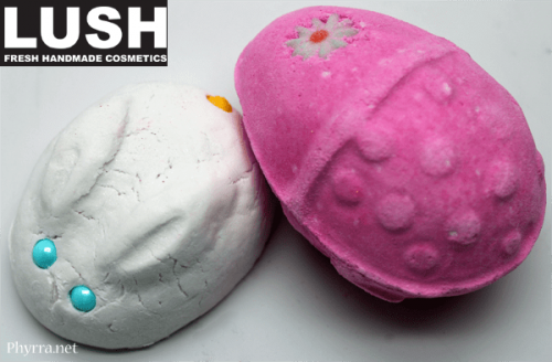 Lush Easter Bath Products