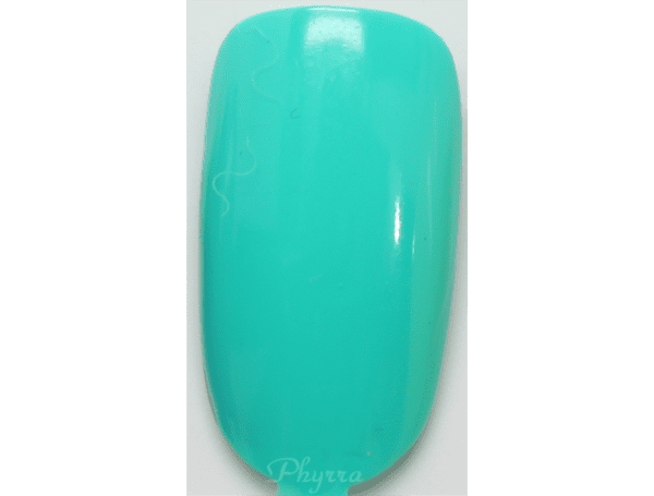 Models Own HyperGel Turquoise Gloss Swatch