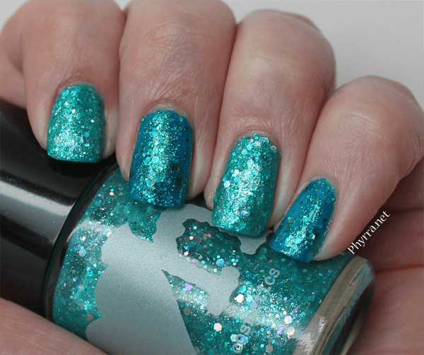 Rainbow Honey Tidal Wave the Kraken Nail Polish Swatches Review