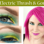 Urban Decay Electric Thrash and Gonzo Tutorial