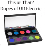 Urban Decay Electric Palette Dupes