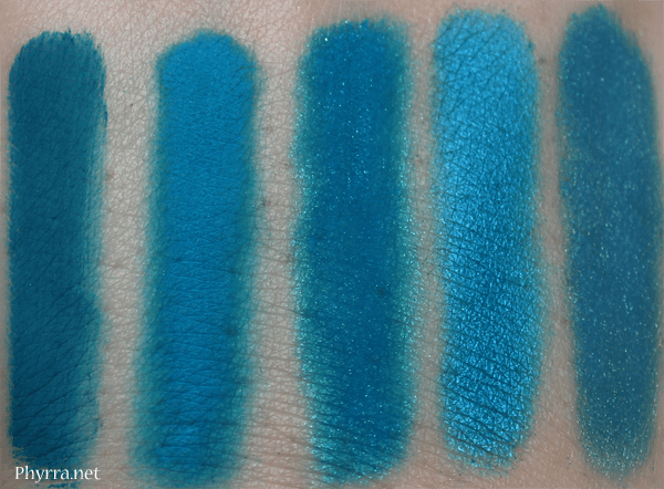 Similar Colors to Urban Decay Gonzo