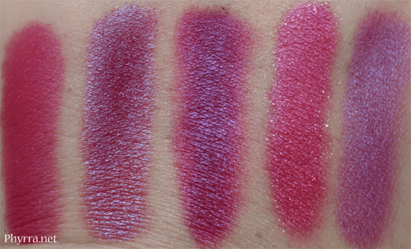 Similar Colors to Urban Decay Jilted