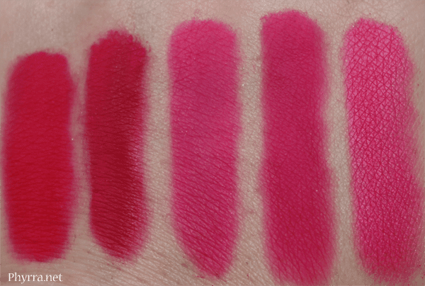 Similar Colors to Urban Decay Savage