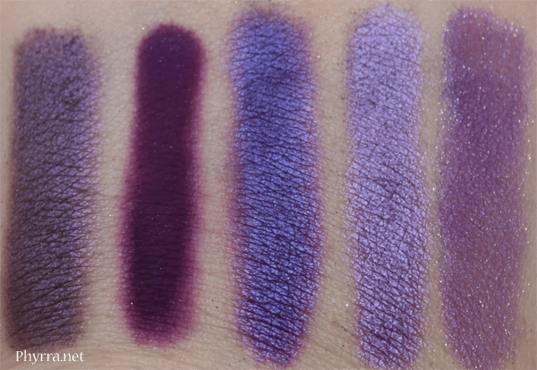 Urban Decay Electric Palette Urban Dupe