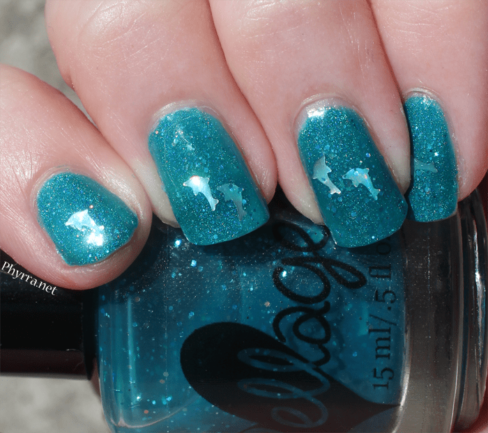 Literary Lacquers Pan Galactic Gargle Blaster and Ellagee Dolphins of the Caribbean