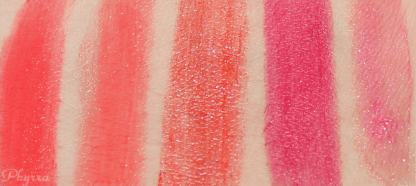 Silk Naturals Lipsticks