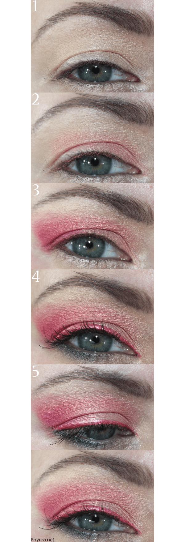 Coral Pink Tutorial