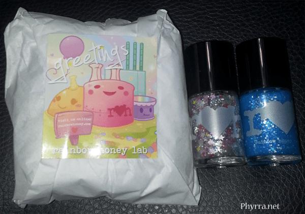 Rainbow Honey April Mini Mystery Bag, Bubble Beam, All My Stars