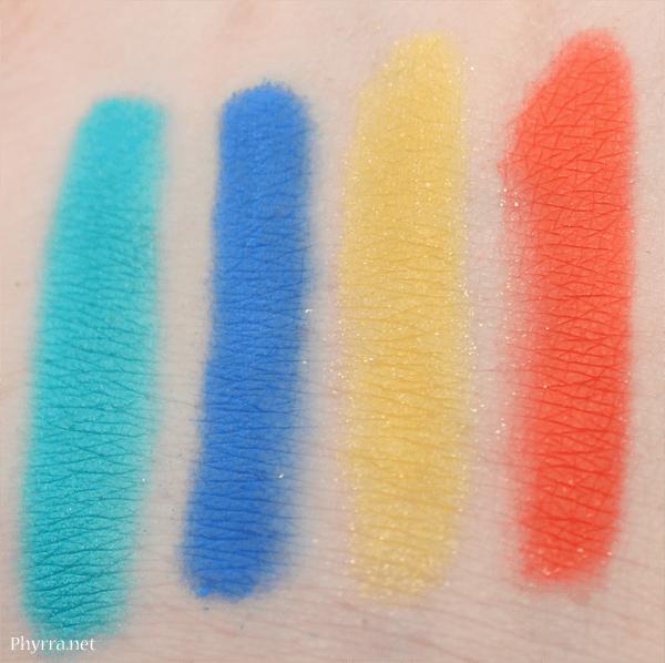 Saucebox Cosmetics Temptation Palette Review Swatches