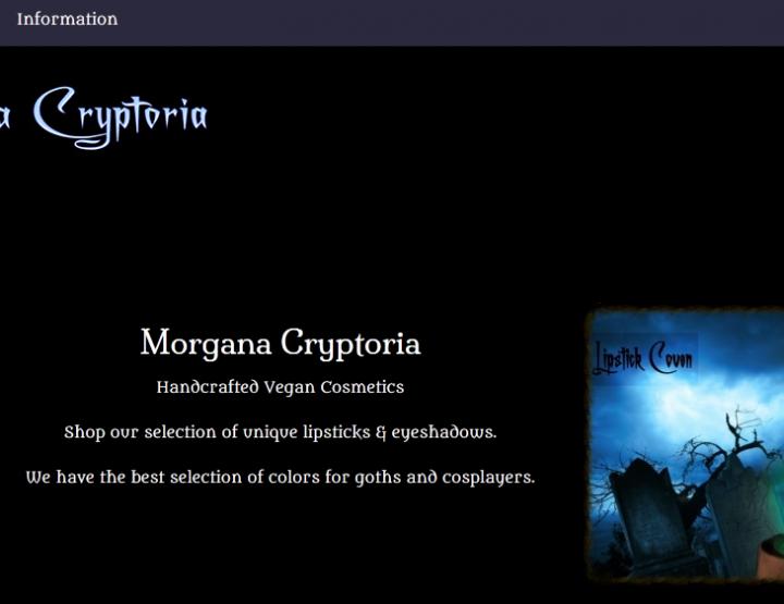 Morgana Cryptoria Eyeshadow Blowout Sale