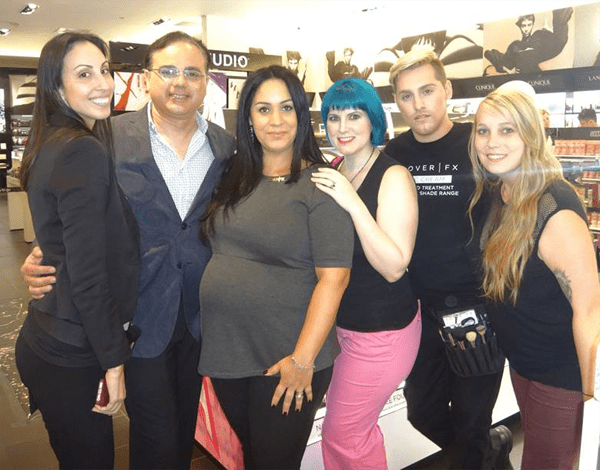 Sephora and Cover FX Staff
