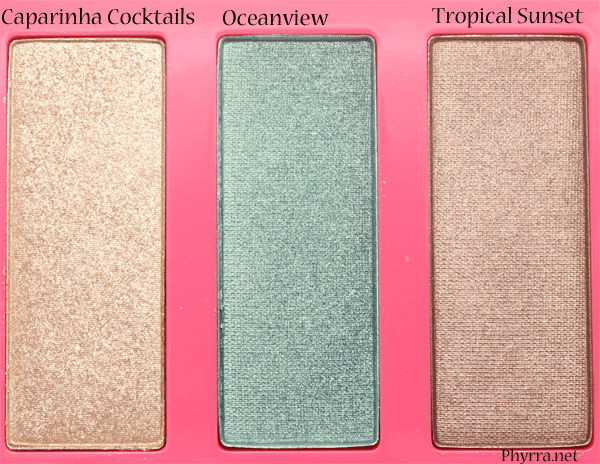 Tarte Golden Days and Sultry Nights Palette Review