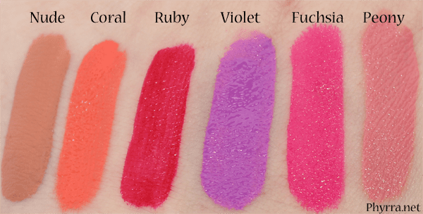 Too Faced Liquified Long Wear Liptsicks Review Swatches