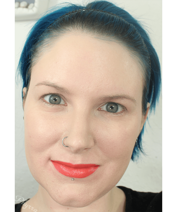 Melted Liquified Long Wear Lipstick in Coral