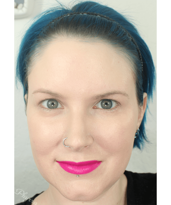 Melted Liquified Long Wear Lipstick in Fuchsia