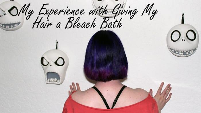 How to Give Your Hair A Bleach Bath Video