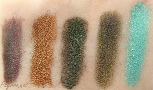 Fyrinnae Burlesque Collection Review and Swatches