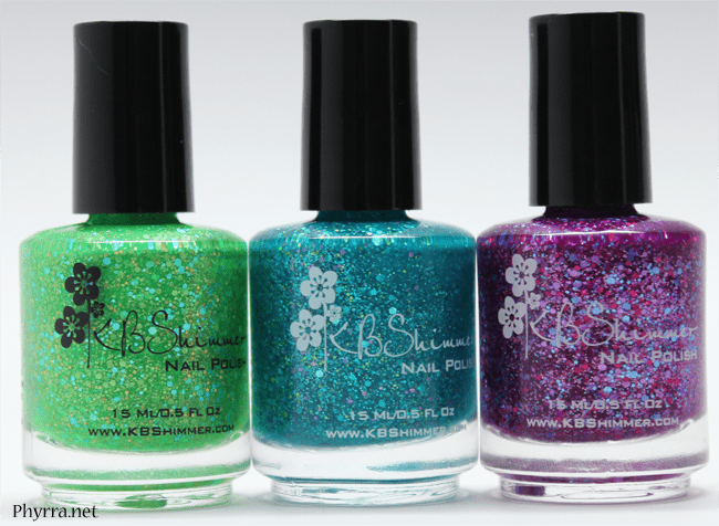 KBShimmer Early Summer 2014 Textured Polishes