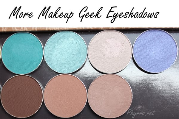 Makeup Geek New Eyeshadows 2014