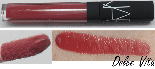 NARS Dolce Vita Swatches Review