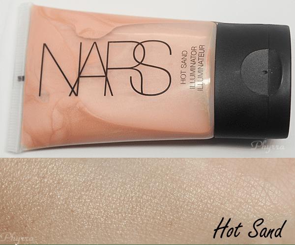 NARS Hot Sand Illuminizer Swatches Review