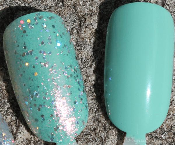 Nailtini Legitimint nail polish swatch review