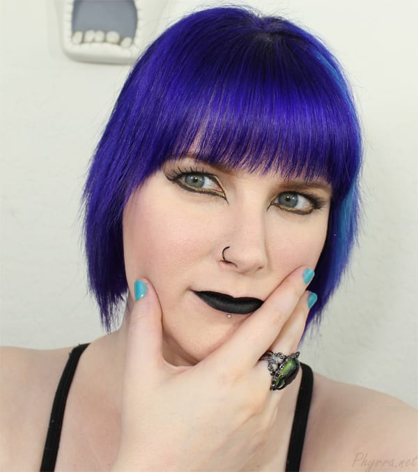 Black Liner Black Lips