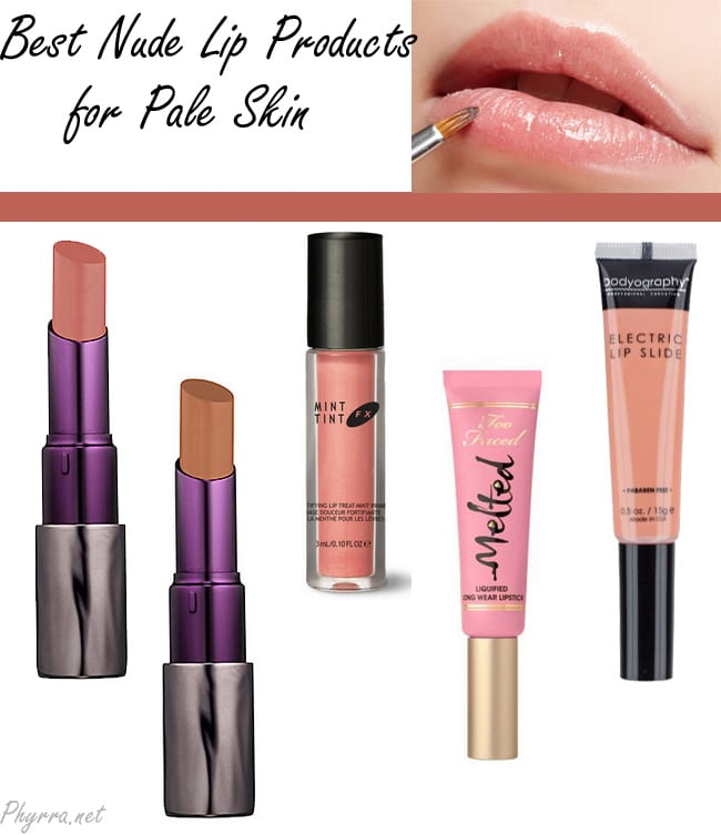 Favorite Nude Lip Products for Pale Skin