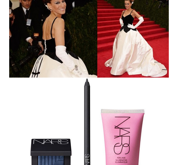 Sarah Jessica Parker Wears NARS for the 2014 Met Ball