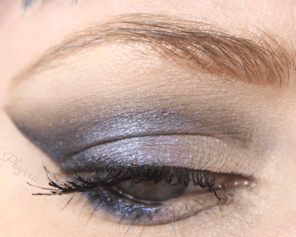 Wearing Sugarpill Soot & Stars, Silk Naturals Stinger and Drive, BFTE Foam on top