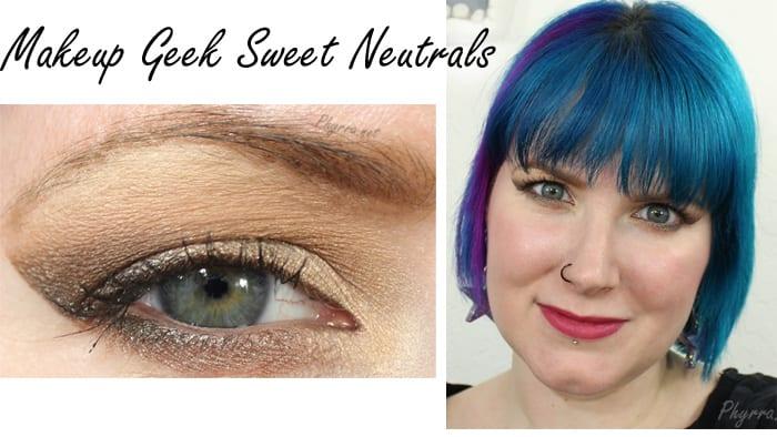 Makeup Geek Sweet Neutrals