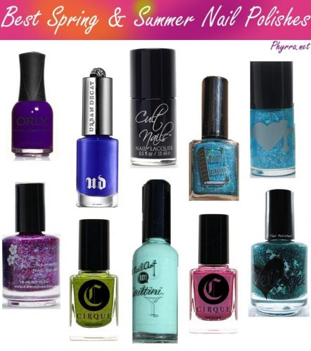 Top 10 Best Nail Polishes for Spring and Summer