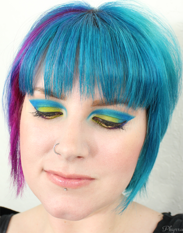 Urban Decay Neo-Electric Tutorial