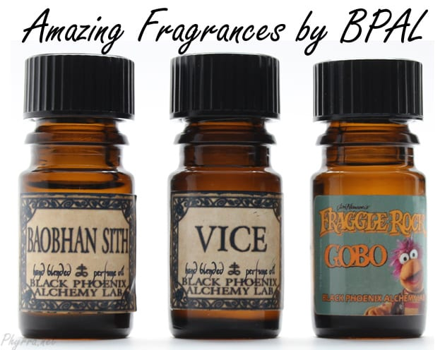 Black Phoenix Alchemy Lab Vice, Baoban Sith, and Gobo Review