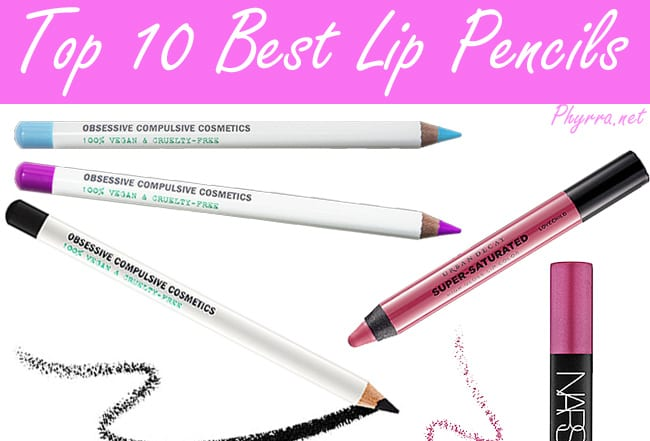 Best Cruelty Free Lip Pencils and Crayons