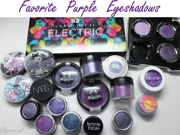 Makeup Wars Favorite Purple Eyeshadows