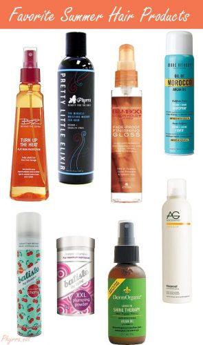 Makeup Wars Favorite Summer Hair Products