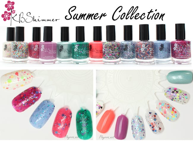 KBShimmer Summer Collection Review and Swatches