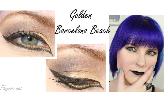Makeup Geek Golden Barcelona Beach Tutorial