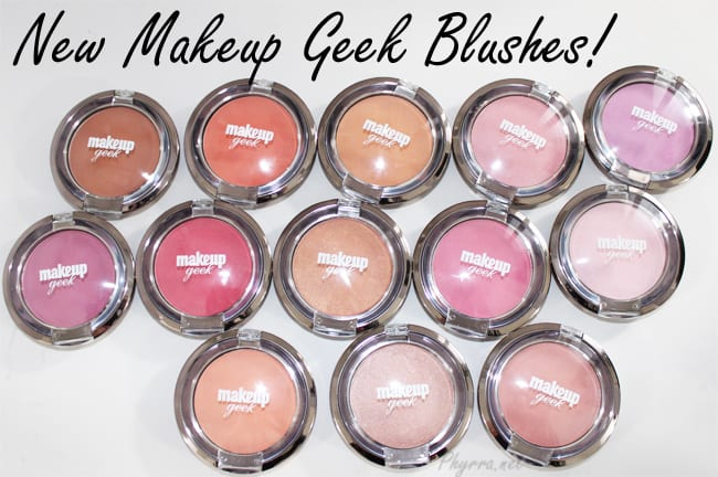 Makeup Geek Blushes Review and Swatches