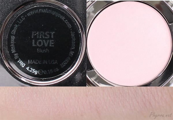 Makeup Geek First Love Swatches Review