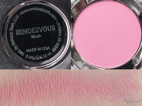 Makeup Geek Rendezvous Swatches Review