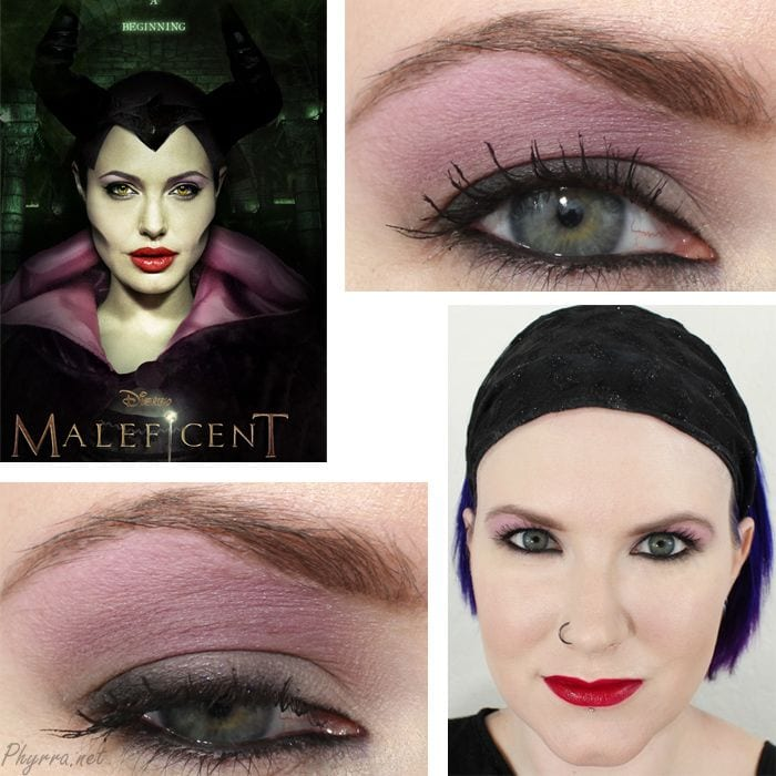 Maleficent Inspired Makeup Tutorial