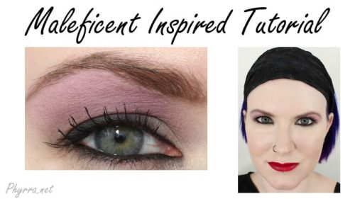 Maleficent Inspired Look